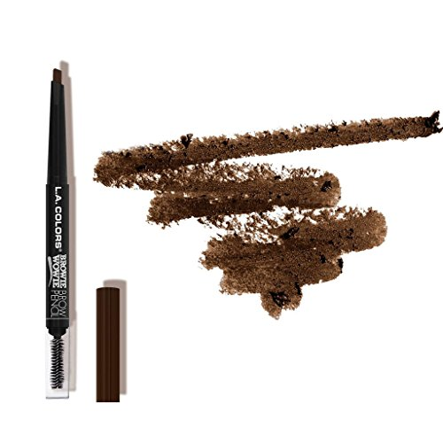 L.A. Colors Browie Wowie Brow Pencil Chocolate 3 Pcs