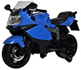 PoshTots Kids High Quality Ride-On BMW like Bike with Interactive Features for 2-4 Years - Blue
