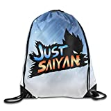 Bekey Cool Just Saiyan Sackpack White Size