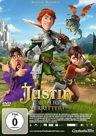 Justin - V?llig Verrittert! (DVD) by Antonio Banderas: Amazon.es ...