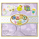 Fox Run 36001 Baby Cookie Cutter Set, Tin-Plated Steel, 5-Piece