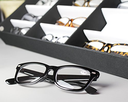 Juvale Eyewear Storage Tray Display Case - 18 Slots Eyeglasses Sunglasses - 18.5 x 14.25 x 2.5 inches by Juvale (Image #2)