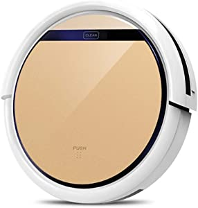 HNaGRDMMP Robot Vacuum Cleaner Upgraded Strong Suction Thin Super Quiet Smart Robotic Vacuum Cleaners Auto Sweeper for Hardwood Floor Carpet Tile Pet Hair Care