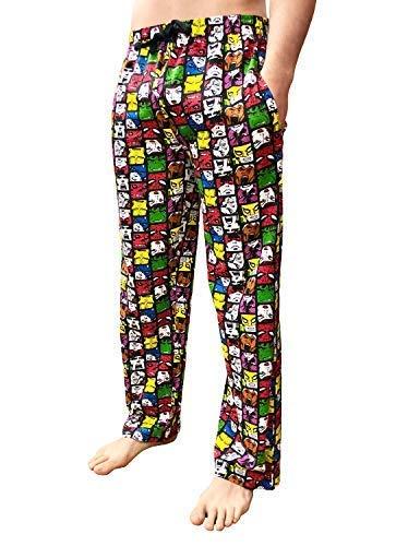 L18 Sleepy Casa Uomo Cotone Joe's Con Pigiama Fumetti Abbigliamento Pantaloni Personaggio Da Notte Marvel Gadget wO4wqrUW