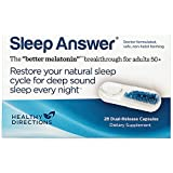 Dr. Richard Wurtman's Sleep Answer Delivers Low Dose Melatonin Throughout The Night, 28 Dual-Release Capsules (28-Day Supply)