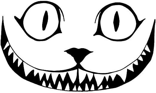 Dessin Visage Halloween.Goodplan Dessin Anime Animal Sourire Visage Voiture Decor Autocollant Halloween Reflechissant Decal Durable Et Utile Amazon Fr Bienvenue