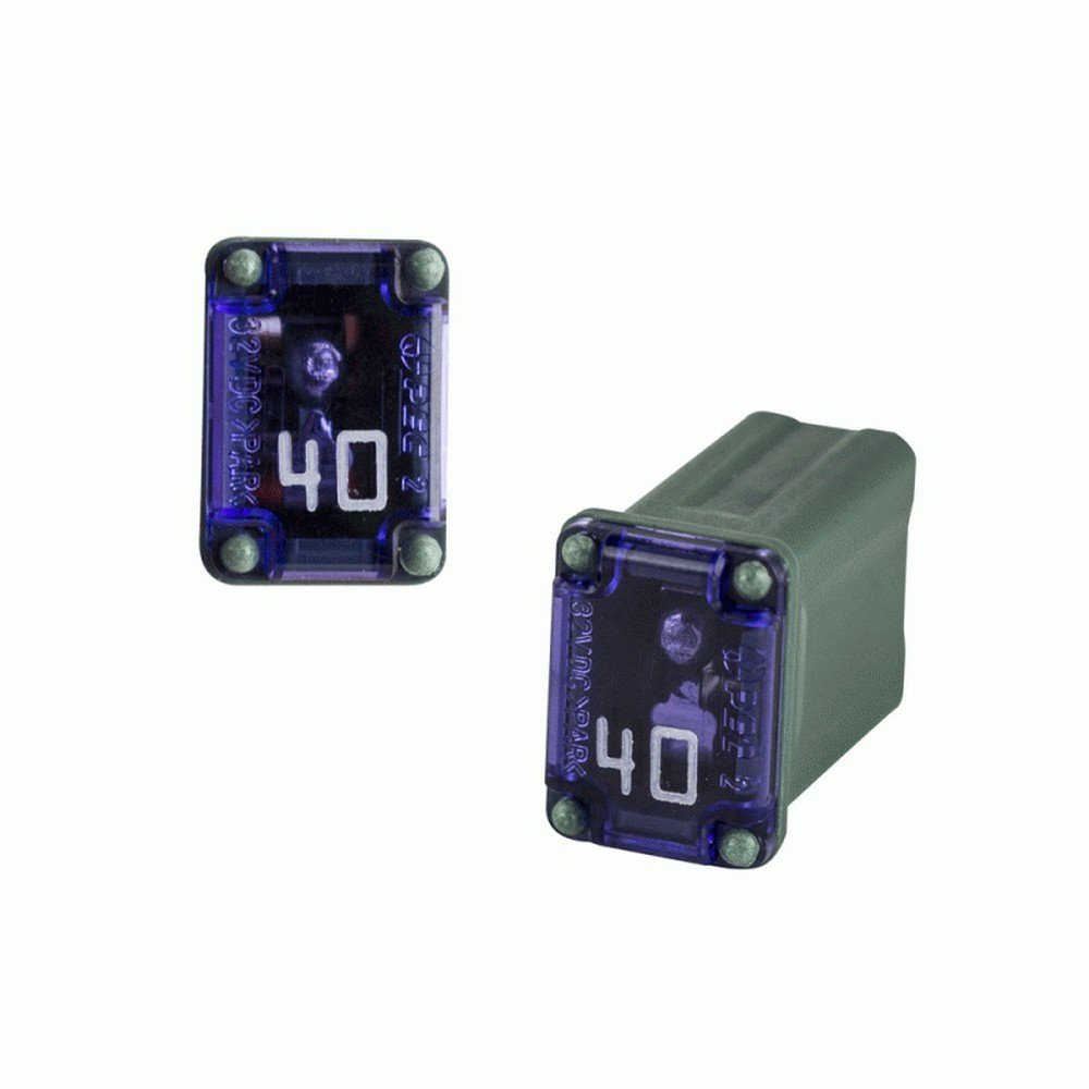 Amazon.com: Bussmann FMM-40 Micro Female 'slow Blow' Maxi Fuse, Green:  Automotive