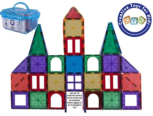 ctk-magnetic-tiles-magnetic-building-blocks-perfect-birthday-gift-for-kids-ages-3-4-5-6-7-8-years-ol