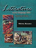 img - for Literature and the Language Arts, Discovering Literature Writing Resources (The EMC Masterpiece Series) book / textbook / text book
