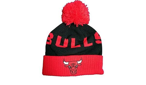 841f6d90f87 ... new style adidas knit beanie amazon amazon chicago bulls kids 2 4t pom  knit beanie nba