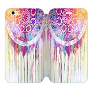 Colorful Cloud Feather Dream Catcher PatternIphone 6 4.7 Shell Case Cover (Laser Technology) by supermalls