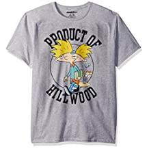 Nickelodeon unisex-adult standard Nickelodeon Hey Arnold Product of Hillwood T-shirt