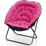 ZXQZ Lounge Chair Living Room Lounge Chair Single Mini Lounge Sofa Chair Lazy Chair (Color : Pink)