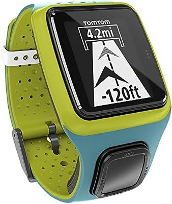 TomTom Runner GPS de Mano, Hombres, Turquesa y Verde, M