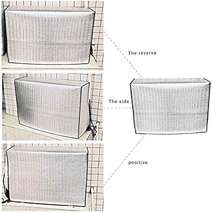 38CM 90 62 Peahop Kabine Climatiseur Protection de climatisation Ext/érieur Isolation /étanche Protection climatisation Ext/érieur Aluminium
