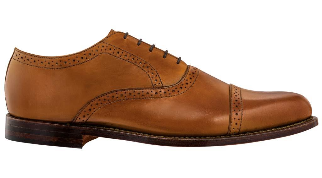 FootJoy Men's Cap Toe Dress Shoes Tan 9.5 M by FootJoy