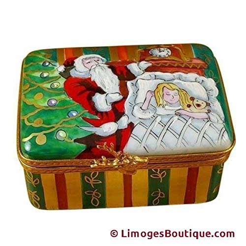 - STUDIO COLLECTION - CHRISTMAS NIGHT - LIMOGES BOX AUTHENTIC PORCELAIN FIGURINE FROM FRANCE