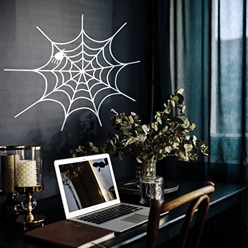 Vinyl Wall Art Decal - Spiderweb - 20
