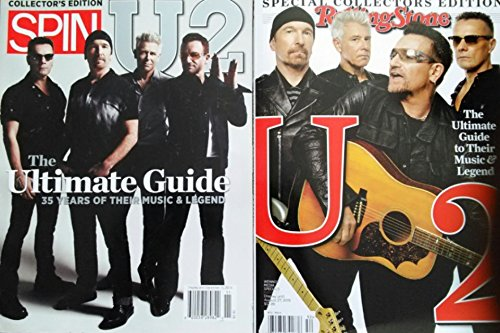 Rolling Stone Magazine U2 2015 Special Collectors Edition Magazine - Ultimate Guide to Their Music and Legend