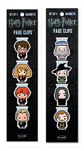 - Re-marks Harry Potter Wizards and Professors Page Clip 2 Pack