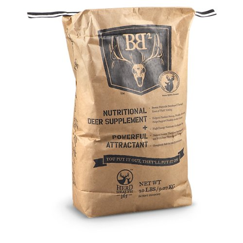 BB2 Deer Nutritional Supplement / Attractant 20 - lb. Bag