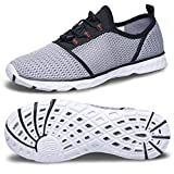 Water Shoes-Quick Drying Mens Water Shoes Summer Water Tennis Shoes for Women Size 9 Wide Outdoor Beach Pool Swim Aqua Water Shoes Socks for Rafting Yoga