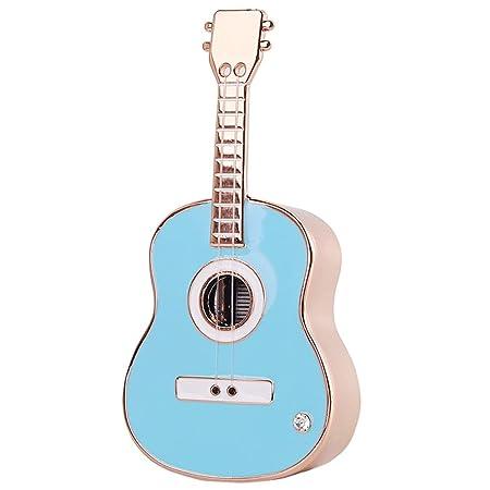 Casa perfecta Guitarra Creativa Mecanismo de Caja de música ...