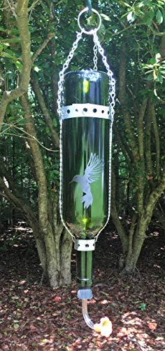 Wine Bottle Hummingbird Feeder (Hummingbird Feeder Wine)