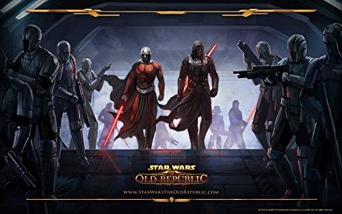 Star wars the old republic Game Poster family silk wall print 40 inch x 24 inch