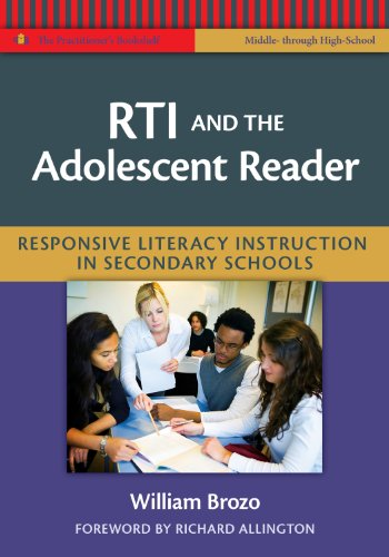 Download RTI and the Adolescent Reader: Responsive Literacy Instruction in Secondary Schools (Middle and High School) (The Practitioner's Bookshelf) Pdf