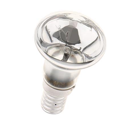 25W White Homyl 5pcs E14 R39 Reflector Type Spotlight Spot Light Bulb Lava Lamp Replacement Small Screw SES