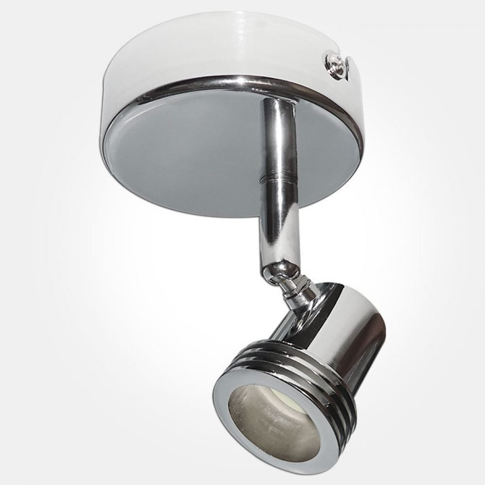 Eterna SPOT1CR Chrome GU10 Single Spotlight