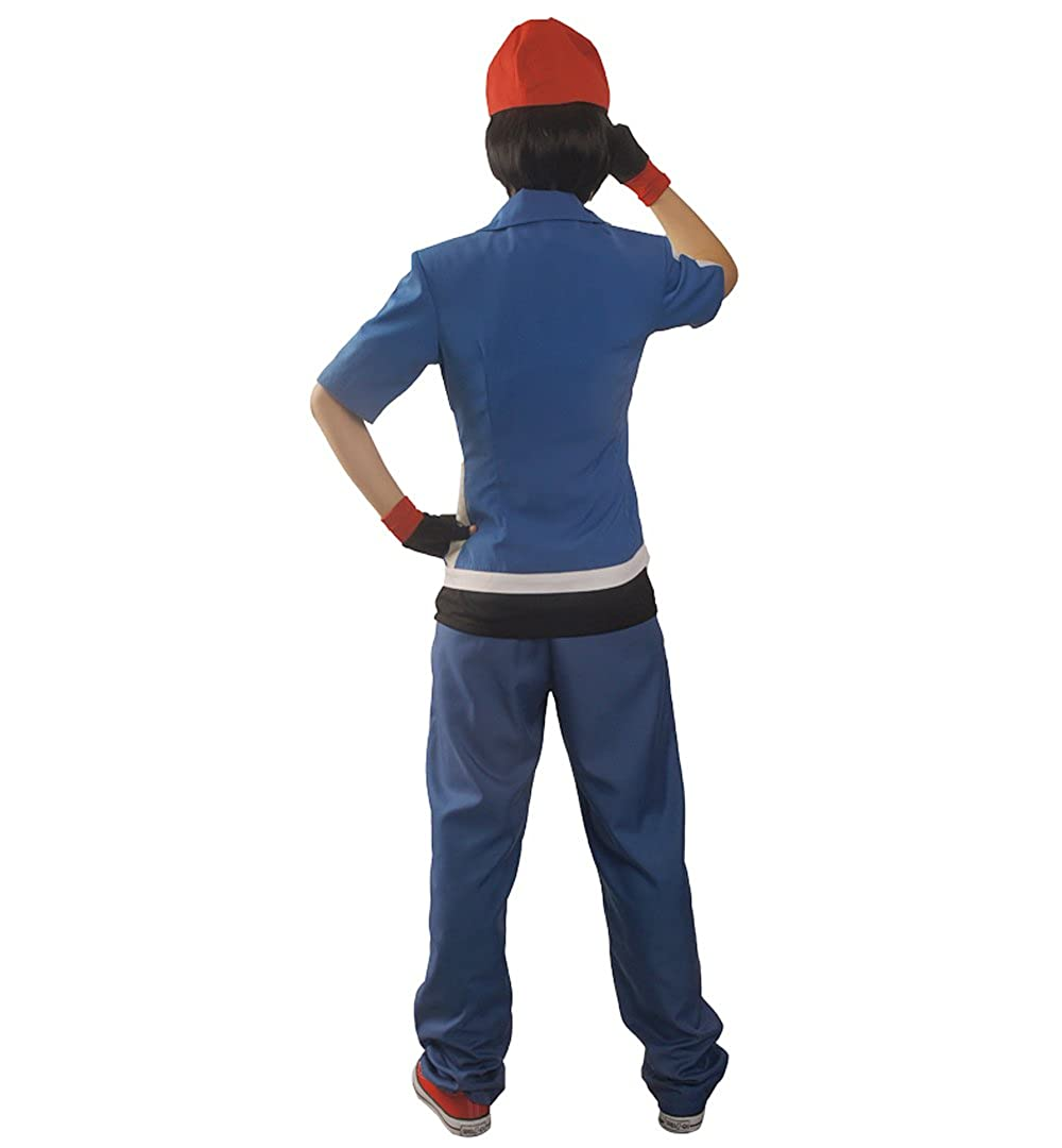 miccostumes Hombres de Pokemon X Y y Ash Ketchum TRAJE DE Cosplay ...