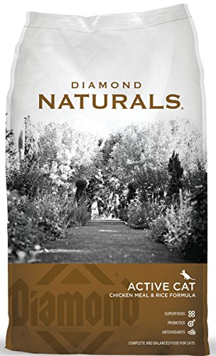 Diamond Chicken (Diamond Naturals Active Cat Chicken Meal & Rice Formula)
