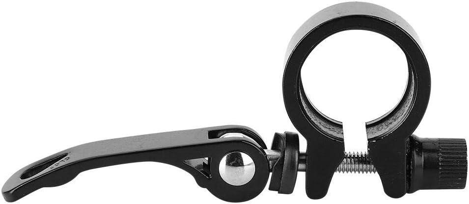 VGEBY1 Abrazadera de tija de sill/ín de Bicicleta Sujeci/ón de Bicicleta Clip de Tubo de aleaci/ón de Aluminio Sujetador de sujeci/ón r/ápida Sill/ín de sujeci/ón