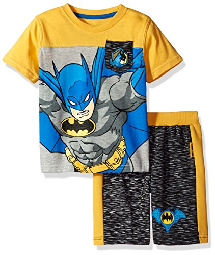 Warner Bros. Toddler Boys' 2 Piece Batman Tee and Short Set at Gotham City Store