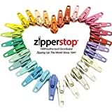 ZipperStop Wholesale - Zipper Repair Kit Solution #3 coil YKK brand slider use in sewing or jewelry -Choice of brights, neutrals, or mix (30pc Brights)
