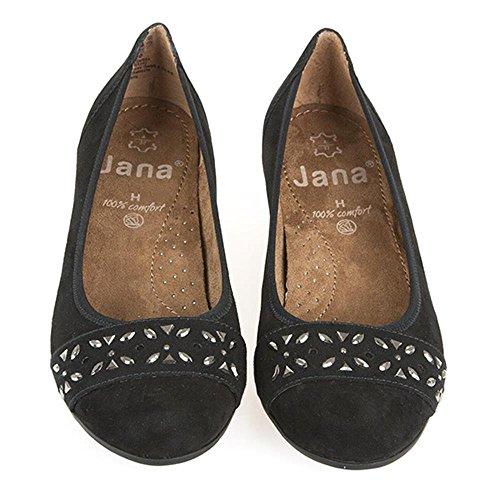 Jana donna Jana Jana Ballet Nero donna Nero Nero Ballet Nero OwqSB0dO