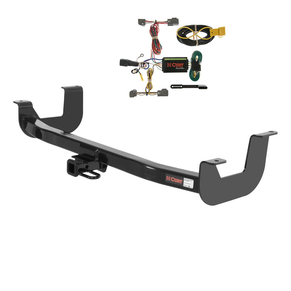amazon com curt class 2 trailer hitch bundle with wiring for 2000