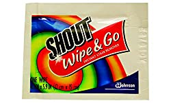 Shout Wipe & Go Stain Treater Towelette (Fresh Scent, 80-Count)