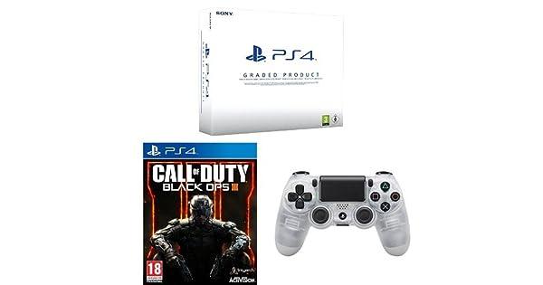 PlayStation 4 (PS4) 500 GB Consola - Blanca - (Reacondicionado ...