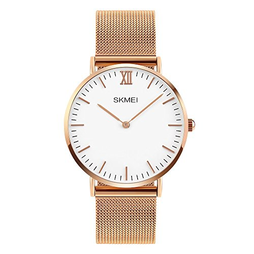 Amazon.com: Mens Business Quartz Watch, TONSHEN Fashion Casual Analog Watch Luxury Style Simple Design Cool Dress Watches Stainless Steel Case with Band ...