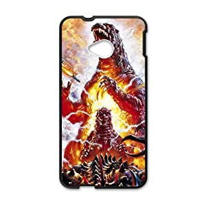 Happy Monster World Cell Phone Cell Phone Case for HTC One M7