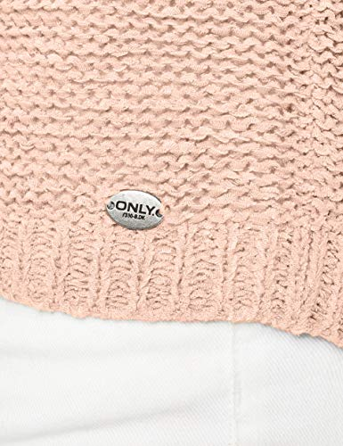 Only Onlgeena Xo L/s Pullover Knt Noos, Felpa Donna
