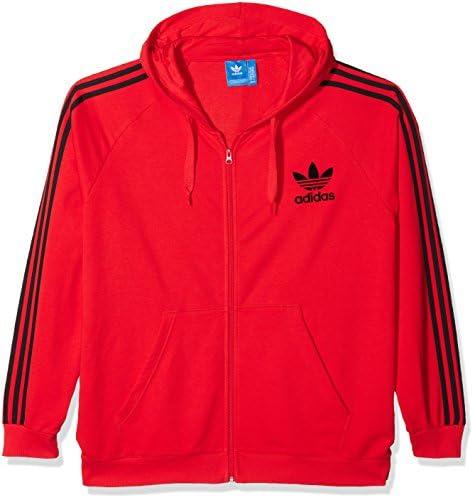 ensillar Incitar Todopoderoso  Adidas Erkek CLFN ft FZ Sweatshirt XXL Kırmızı: Amazon.com.tr