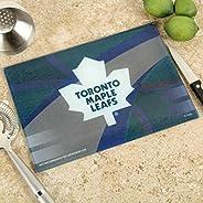 "Memory Company NHL Toronto Maple Leafs 8"" X 11.75"" Carbon Fiber Cutting Board, One Size,"