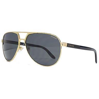 Versace Lunette de soleil Pop Chic Logo Pop Chic Logo Aviator - Homme 616a50b0b62b