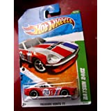 "TREASURE HUNT!! Hot Wheels 2011 ''DATSUN 240Z"" TREASURE HUNT '11 - 12 of 15 - 62/244 Red & White with #24 Racecar Decal on Door & DATSUN in bold black letters across hood"