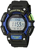 Casio Men's STL-S110H-1BCF Tough Solar Runner Digital Black and Blue Watch Casio