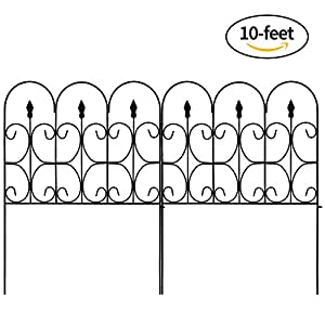 Amazon Com Amagabeli Decorative Garden Fence Outdoor